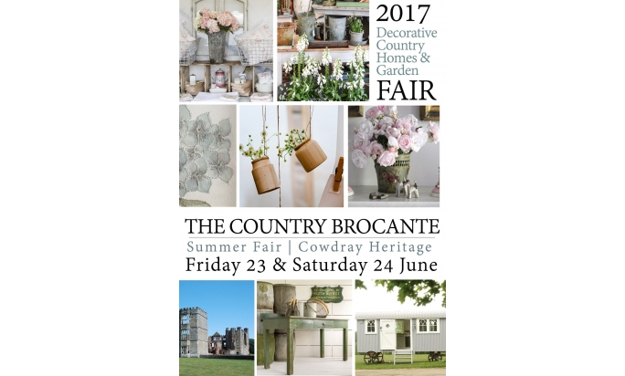 Maison Bleu Lin exhibit at Cowdray Big Summer Brocante on june 23rd and 24th in Midhurst (West Sussex)
