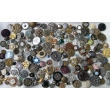 Antique haberdashery postcard Antique buttons