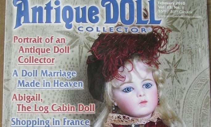 Antique Doll Collector, february 2010