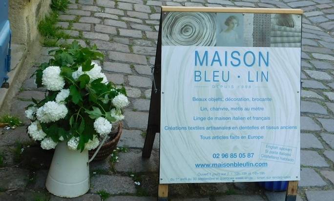 Spring and summer season re opening of Maison Bleu Lin boutique on april 11th, 10am
